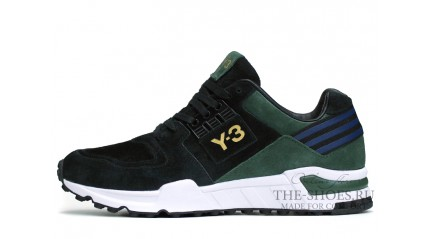 Equipment КРОССОВКИ МУЖСКИЕ<br/> ADIDAS Y-3 VERN ELITE BLACK GREEN WHITE