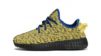 Adidas Yeezy Boost 350 Yellow Black Blue