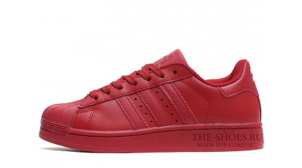 Superstar КРОССОВКИ МУЖСКИЕ<br/> ADIDAS SUPERSTAR DARK RED