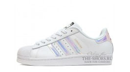 Adidas SuperStar Pure White Magic Mirror белые