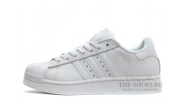 Adidas SuperStar Pure White белые кожаные