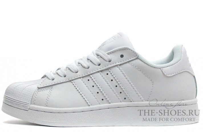 Кроссовки Adidas SuperStar Pure White