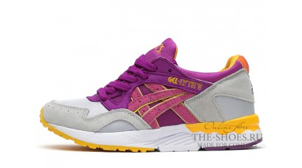 Asics GEL LYTE 5 Grey Purple White Yellow
