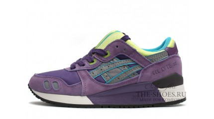 Asics Gel Lyte 3 Lilac Green Gray White