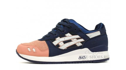 Gel Lyte 3 КРОССОВКИ МУЖСКИЕ<br/> ASICS GEL LYTE 3 SALMON TOE NAVY PEACH