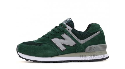 New Balance 574 NYC Green Gray White
