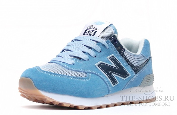New Balance 574 Dual Blue Gray голубые, фото 2