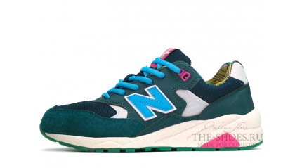 New Balance 580 Mixed Green Blue White