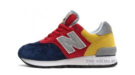 New Balance 670 Blue Red Yellow разноцветные