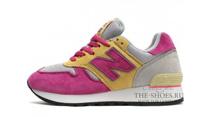 670 КРОССОВКИ ЖЕНСКИЕ<br/> NEW BALANCE 670 TWIN GREY PINK YELLOW
