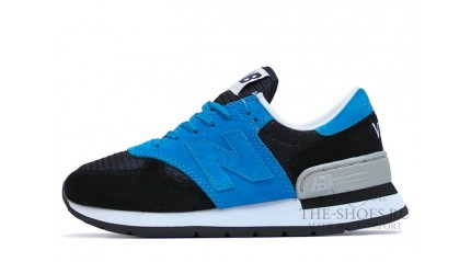New Balance 990 Blue Black White