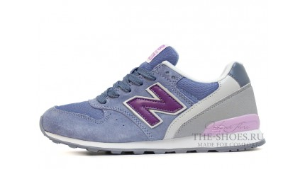 996 КРОССОВКИ ЖЕНСКИЕ<br/> NEW BALANCE 996 SHADE BLUE VIOLET GRAY