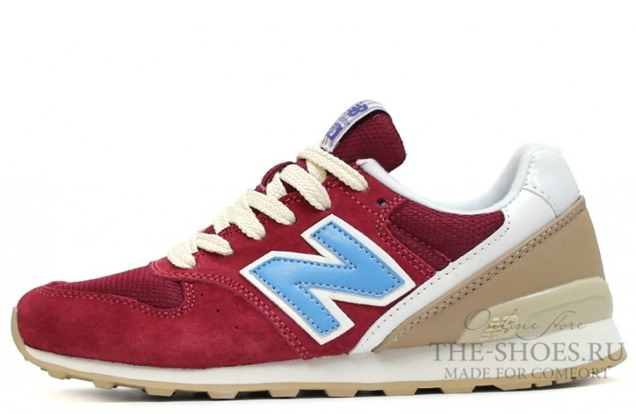 Кроссовки New Balance 996 Cherry Blue Begie White