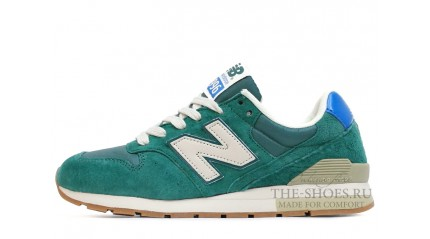 996 КРОССОВКИ ЖЕНСКИЕ<br/> NEW BALANCE 996 DIM GREEN BEIGE WHITE