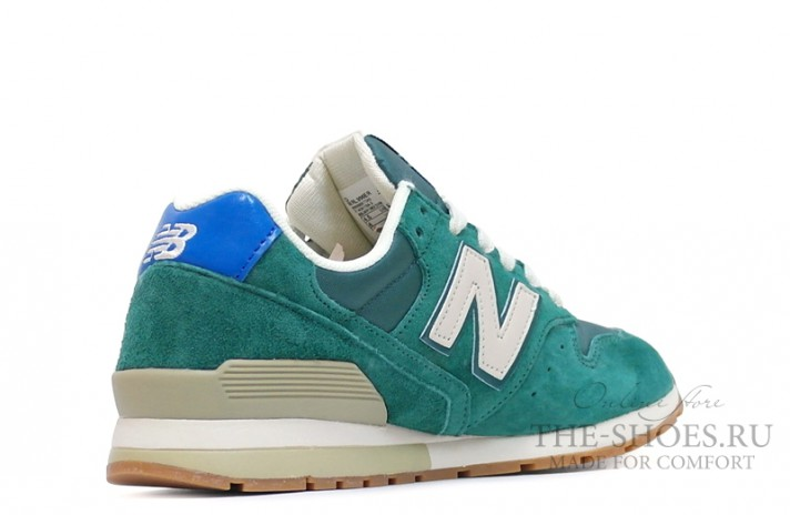 New Balance 996 Dim Green Beige White зеленые, фото 3