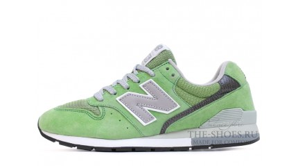 996 КРОССОВКИ ЖЕНСКИЕ<br/> NEW BALANCE 996 LIGHT GREEN DUAL GREY