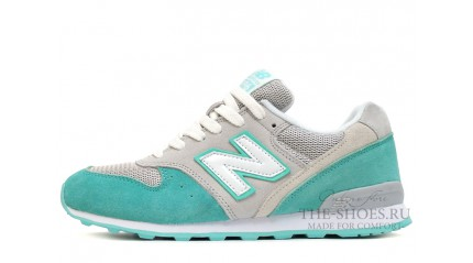 New Balance 996 Mint Grey White