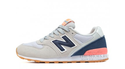 New Balance 996 Grey Dark Blue