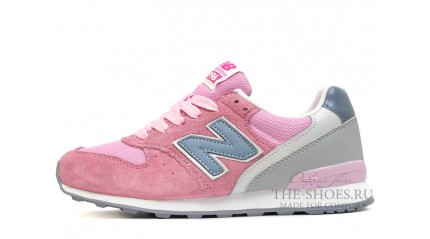 New Balance 996 Light Pink Сold Blue Gray