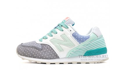 New Balance 996 Peas Grey Mint Line White