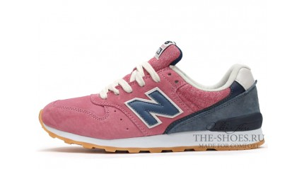 996 КРОССОВКИ ЖЕНСКИЕ<br/> NEW BALANCE 996 PINK SHADES GREY WHITE