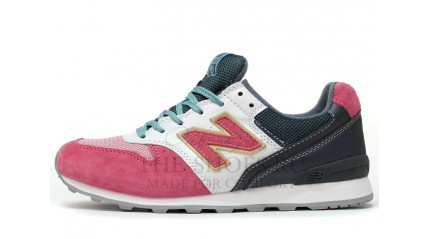 New Balance 996 Pink Wet Grey White