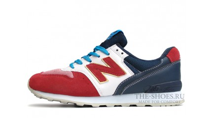 New Balance 996 Red Dark Blue White