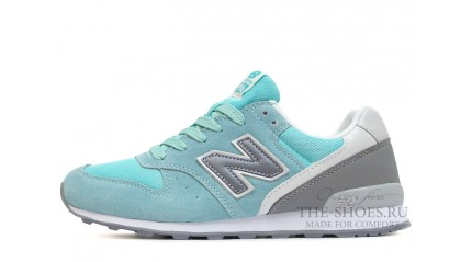 996 КРОССОВКИ ЖЕНСКИЕ<br/> NEW BALANCE 996 TIFFANY MINT TWIN GRAY