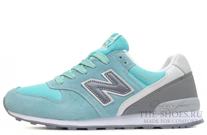 New Balance 996 Tiffany Mint Twin Gray голубые бирюзовые
