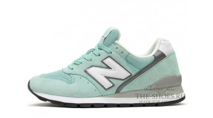 New Balance 996 Turquoise Gray White