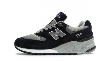 КУпить New Balance 999 Twin Grey Black