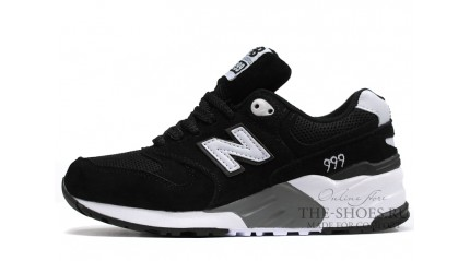 New Balance 999 Black Gray White