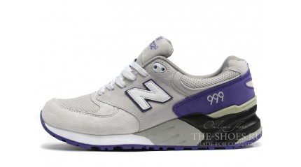 New Balance 999 Grey Violet Black White