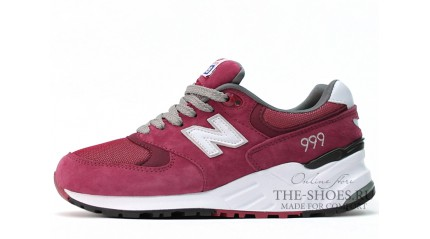 New Balance 999 Cherry White Gray