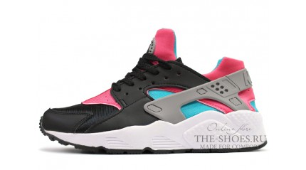 Nike Air Huarache Black Hot Lava Pink Mint