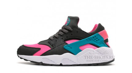 Nike Air Huarache Hyper Pink Dusty Cactus Black