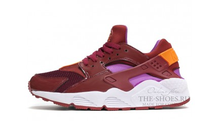 Nike Air Huarache Burgundy Total Crimson Red White
