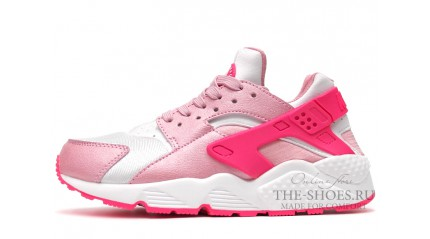 Huarache КРОССОВКИ ЖЕНСКИЕ<br/> NIKE AIR HUARACHE DOUBLE PINK WHITE