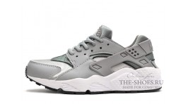 Nike Air Huarache Wolf Grey White серые