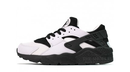 Nike Air Huarache White Black