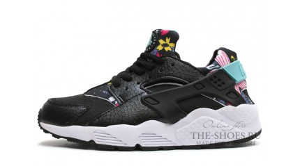 Nike Air Huarache Aloha Pearl Black White