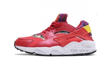 Nike Air Huarache Aloha Pearl Red White