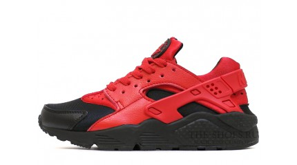 Nike Air Huarache Love Hate Black Red