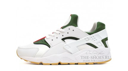 Nike Air Huarache Gucci Edition White Green