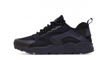 Nike Air Huarache Ultra Run Black Full