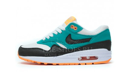 Air Max 1 КРОССОВКИ ЖЕНСКИЕ<br/> NIKE AIR MAX 87 WHITE MINTOL BLACK
