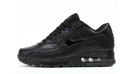 Air Max 90 КРОССОВКИ ЖЕНСКИЕ<br/> NIKE AIR MAX 90 LEATHER BLACK PEARL