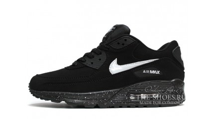 Air Max 90 КРОССОВКИ ЖЕНСКИЕ<br/> NIKE AIR MAX 90 SUEDE BLACK WHITE OREO