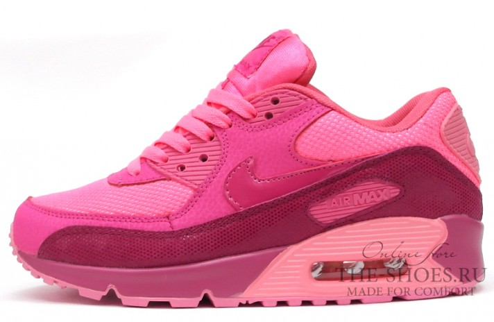 Nike Air Max 90 Essential Hyper Pink розовые