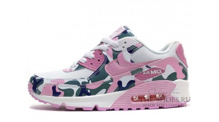Air Max 90 КРОССОВКИ ЖЕНСКИЕ<br/> NIKE AIR MAX 90 ESSENTIAL PINK CAMO